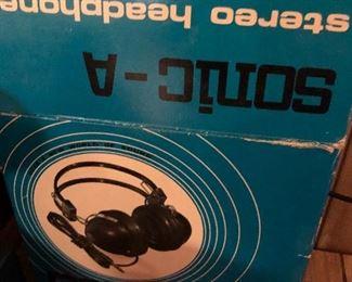 Sonic A Stereo Headphone