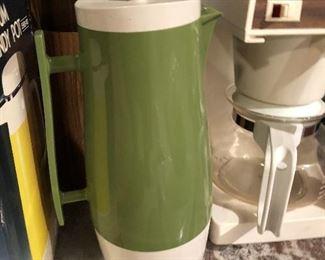Vintage Avocado coffee server