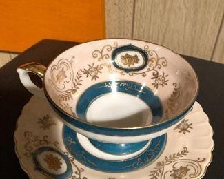 Ucagco China Hand Painted China Tea Cup