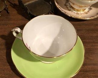 Adderley Bone china Tea cup and saucer