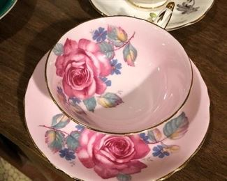 Paragon By Appointment fine bone china Tea cup and saucer