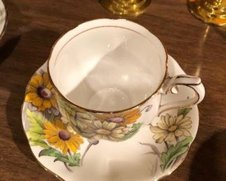 Royal Albert Flower of the month Daisy Cup and saucer