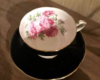 Adderley Tea cup and Saucer F241