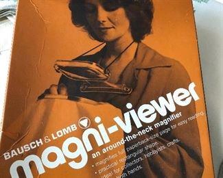 Vintage Bausch & Lomb Magni viewer