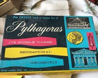 1961 Pythagoras 179 Puzzle Game - Tryne Games