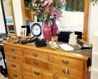 Rockwood Maple dresser with Mirror