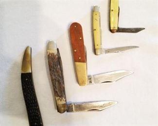 Mixed pocket knives