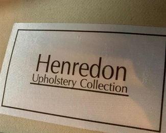 #2Henredon Chair w/ottoman - as is $65.00