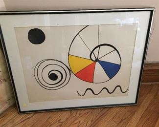 Alexander Calder Litho
