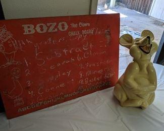 Bozo chalkboard
