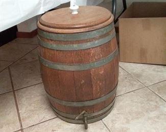 Very old keg?  Very heavy!