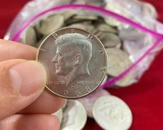 172 JFK Half Dollars