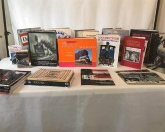 Collectible Train Books XIII