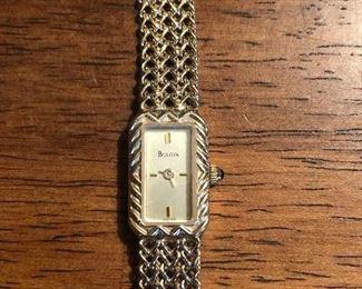 Women's Bulova 14K Gold Watch