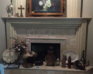 Lots of art and decorative items
