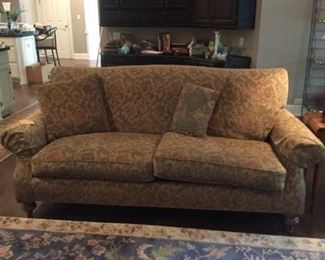 Beautiful muted tone sofa