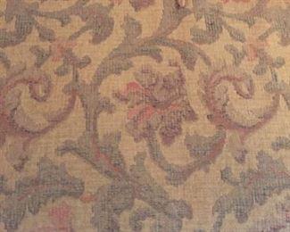 detail of sofa fabric