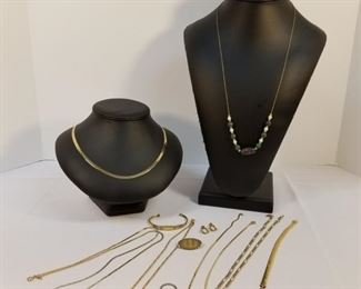 Variety of Gold Plated & Gold Filled Jewelry https://ctbids.com/#!/description/share/233698