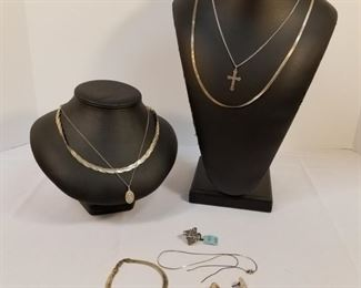 Collection of Sterling Silver Jewelry https://ctbids.com/#!/description/share/233702
