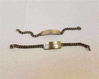 Sterling Bracelets Inscribed https://ctbids.com/#!/description/share/233704
