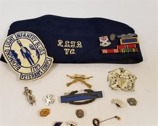 Military Veterans Collection / Sterling Silver https://ctbids.com/#!/description/share/233705
