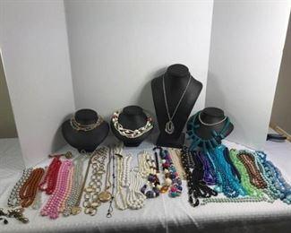 Colorful Costume Necklaces https://ctbids.com/#!/description/share/233712