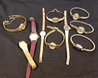 10 Vintage Watches.Gucci, Seiko, Swiss Benrus https://ctbids.com/#!/description/share/233728