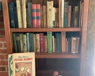 Vintage Books with Decorative Duck https://ctbids.com/#!/description/share/233749