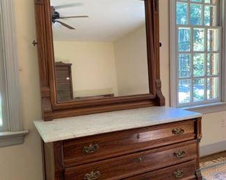 Bedroom dresser with mirror https://ctbids.com/#!/description/share/233763