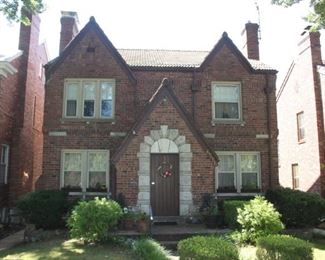 This stunning 4-bedroom 2 1/2 bath 2-story home will be coming for sale after the estate sale.  Brian Pence is also a licensed agent in the State of Missouri and would be happy to show you this fine home with a huge 2-story addition that boasts a 4th bedroom, (Master suite), family room and bonus room upstairs. Amazing details in wonderful St. Louis Hills neighborhood.