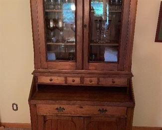 Farm style cabinet/desk/hutch
