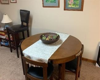 New never used game table from Wayfair. Just purchased and assembled!!!