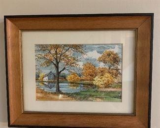 Ralph Murray watercolor