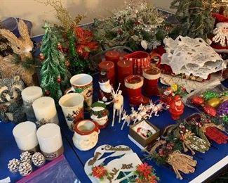 Some vintage Christmas items