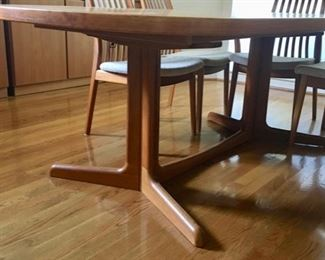 Detail of Trestle Table