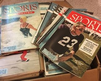 Sports Illustrated from 1950's