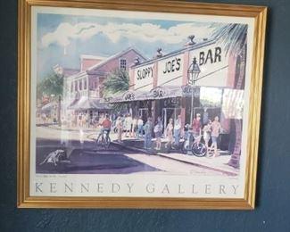 Kennedy Gallery Framed Print