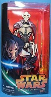 Star Wars Revenge of the Sith General Grievous Deluxe Action Figure