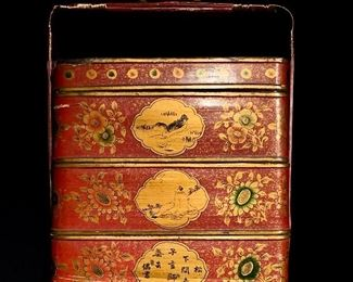 One in a series of Chinese lunch boxes that my client collected on her many trips to Asia