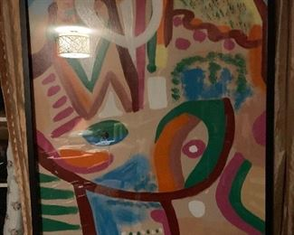 A close up of one of the Rita Blitt pieces