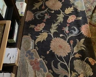 Small Chinese rug of the best quality in the library