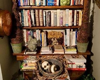 Cookbooks anyone?? Over three hundred cookbooks for you to choose from.