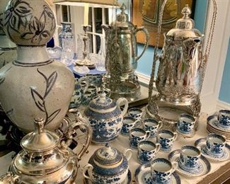 A large Demitasse set of Lowest Dear by Booth plus much more