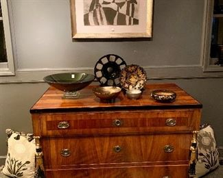 the best! A Baltic Neo Classical commode  Circa 1830