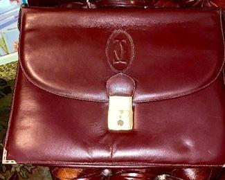 Cartier briefcase.