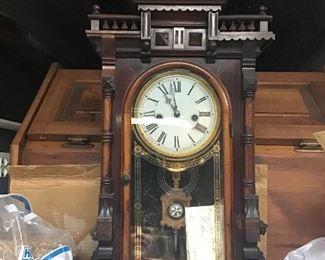 E N Welch 8 Day Clock