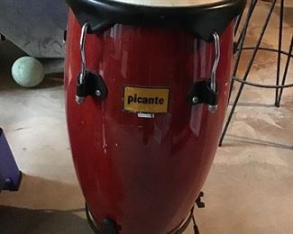 TWO Picante Drums with stands