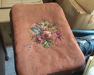 Lovely Antique Footrest Stool