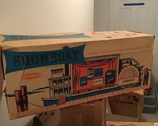 1962 Remco Showboat with Scripts and Box