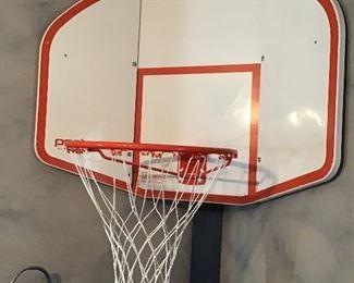 Corner or Flat Basketball Hoop full size - bring tools :)